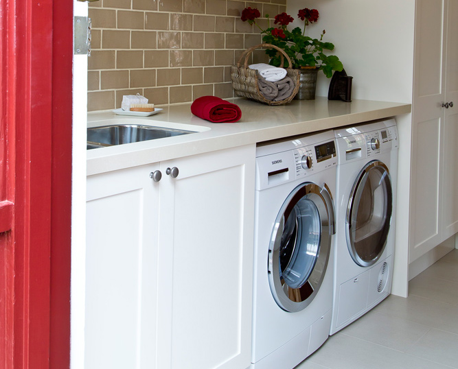 Laundry renovation<br>a fine tradition