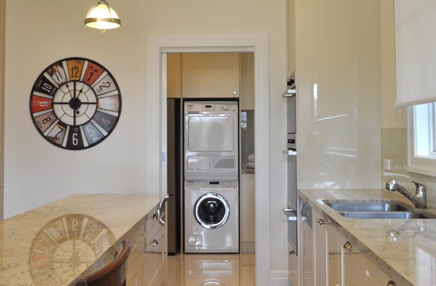 Laundry renovation<br>hideaway in style
