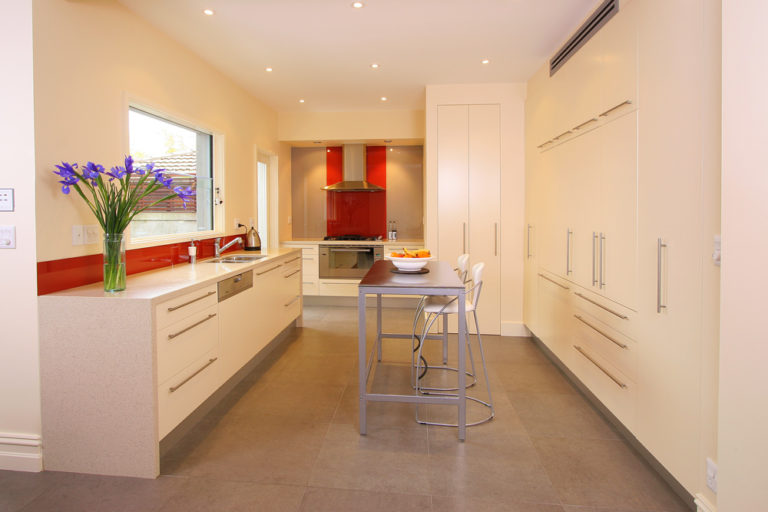Kitchen renovation<br>a dash of class