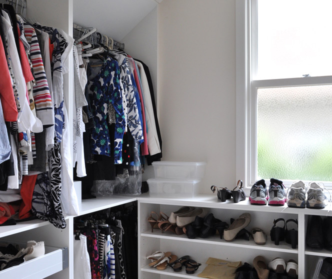Wardrobe renovation<br>oodles of space