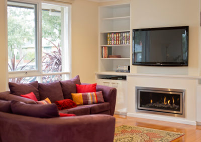 polar-white-laminex-silk-caesarstone-wall-unit-bookcase-gas-fireplace-tv-kitchen-update